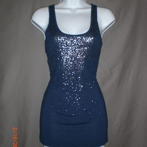 Old Navy Navy Tank Top
